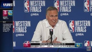 Coach Mike D'Antoni | Western Conference Finals Game 4 Press Conference