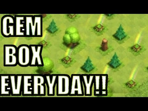 HOW TO GET FREE GEM BOX EVERYDAY WITH PROOF 2017! EASY METHOD/TRICK NO HACK!! - CLASH OF CLANS(COC)