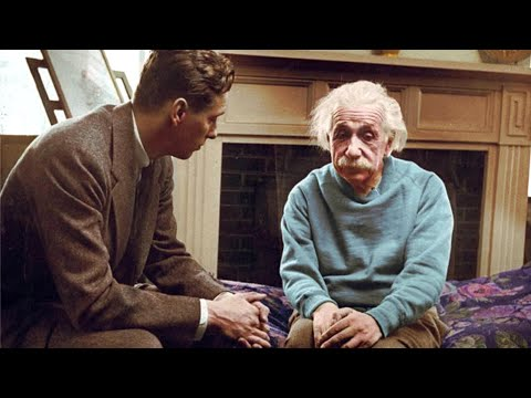 Last Words of Albert Einstein?