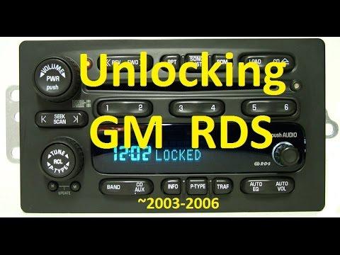 My Attempt To Unlock A Gm Radio