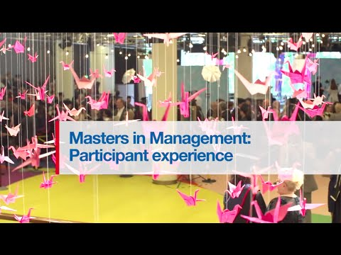 London Business School - Masters in Management 'Student Experience'