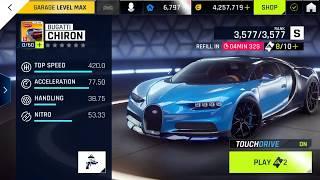 BUGATTI CHIRON Test Drive - Asphalt 9 Legends - Android/iOS