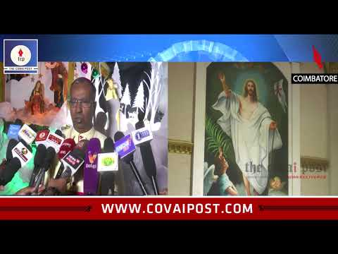 Special prayers in Churches mark Christmas celebrations in Coimbatore