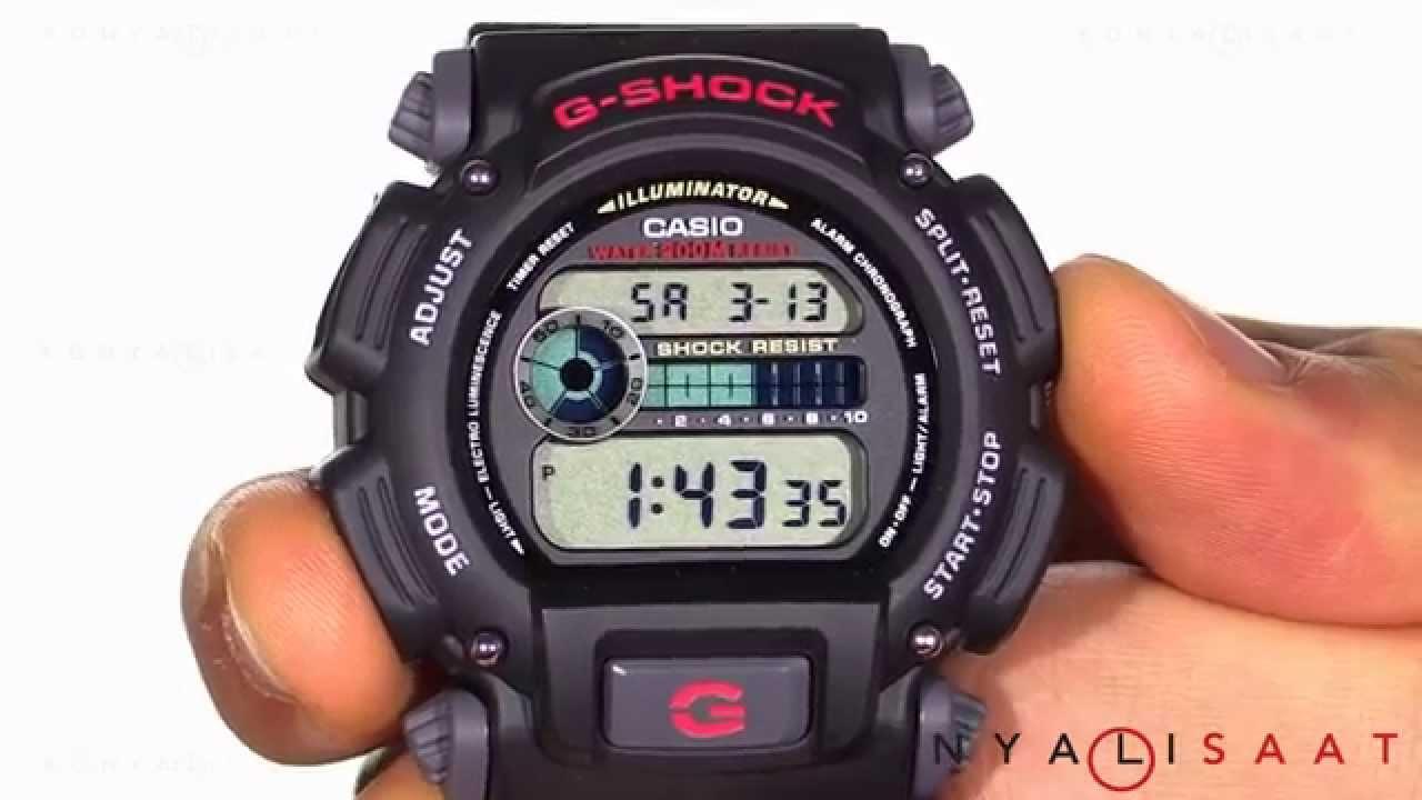 CASIO G-SHOCK DW-9052-1V Erkek Kol Saati - YouTube 5c212a2dbc4