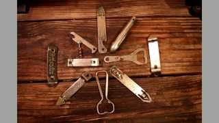 Collection of Beer Bottle Cap Openers ~What would we do without them? :]~