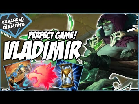 PERFECT VLADIMIR GAME VS KAI'SA MID?!? - Unranked to Diamond - Ep. 137   League of Legends
