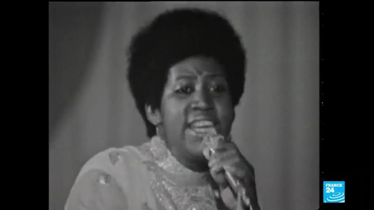 فرانس 24:'Queen of Soul' Aretha Franklin dies at 76