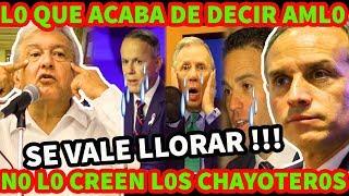 ¡ HUGO LOPEZ GATELL SE NOS VA ! LOS CHAYOTEROS NO PUEDEN CREER LO QUE ANUNCIO AMLO