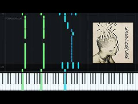 I Changed Her Life - XXXTENTACION [Piano Tutorial + Sheet music] thumbnail