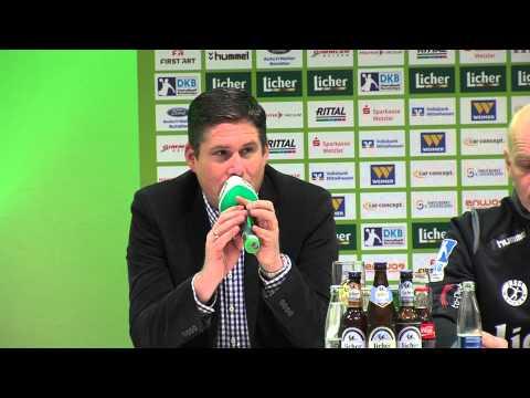 Pressekonferenz HSG Wetzlar - MT Melsungen