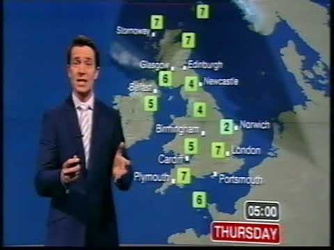 BBC Weather 28th March 2012