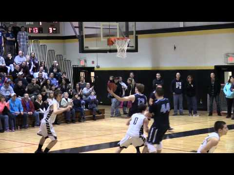 Southern Regional High School Basketball vs Shawnee 3/2/15 South Jersey Group IV Playoffs