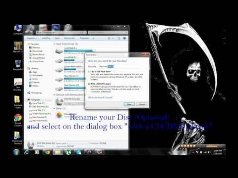 How to Burn large file Music (MP3) into a 700MB Disc