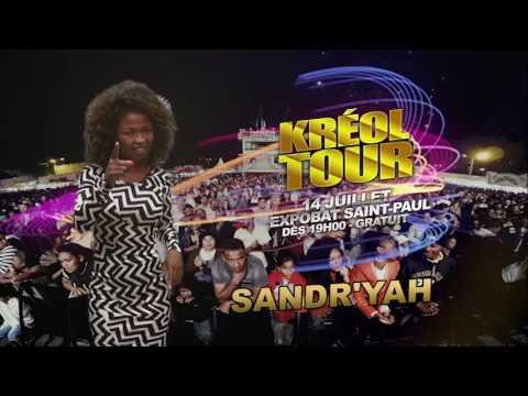Sandr'yah au Kreol Tour 2016