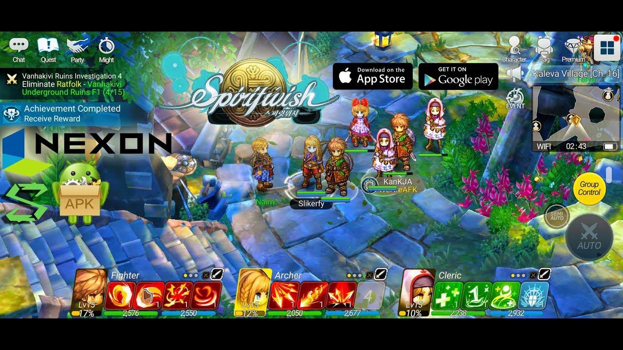 Spiritwish Mantap Gila Ini Game MMORPG Unik Sekali Main Langsung Jalanin 3 Character