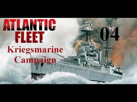 Atlantic Fleet Kriegsmarine Campaign 04 - Cruiser Guns