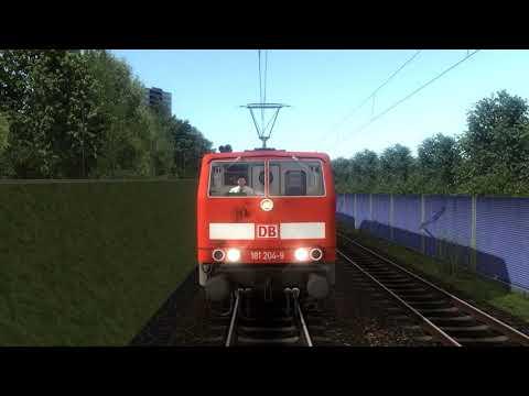 Virtual Railroads DB BR181.2 in Train Simulator 2019 |