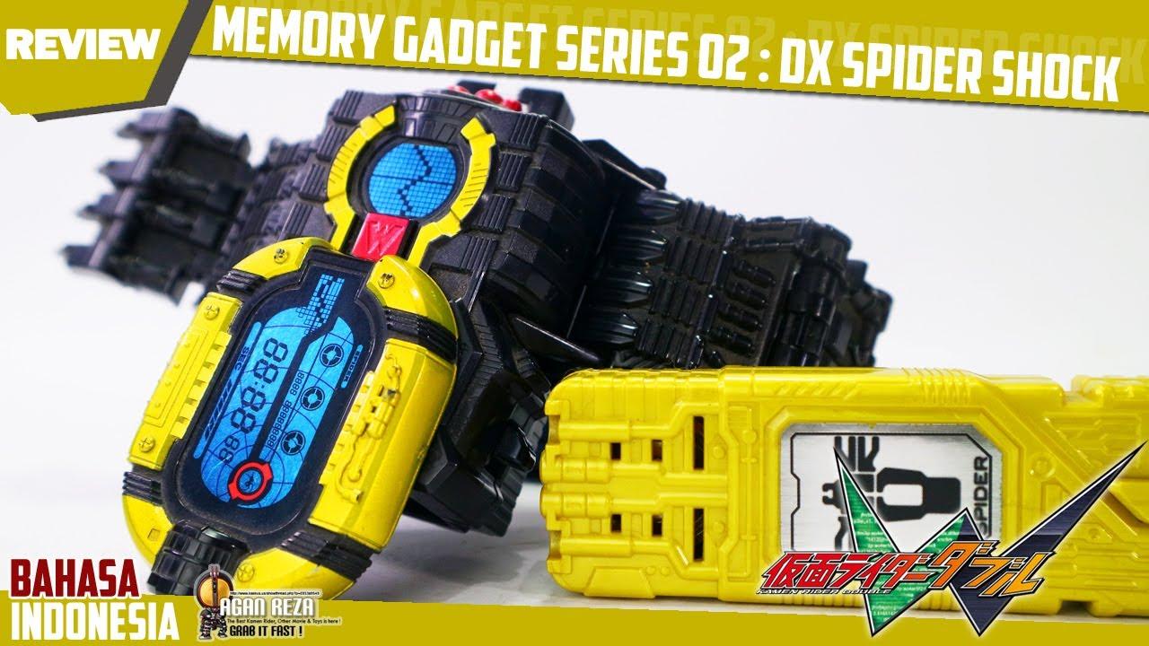 REVIEW - MEMORY GADGET SERIES 02: DX SPIDER SHOCK /メモリガジェットシリーズ02 スパイダーショック[Kamen Rider Double]