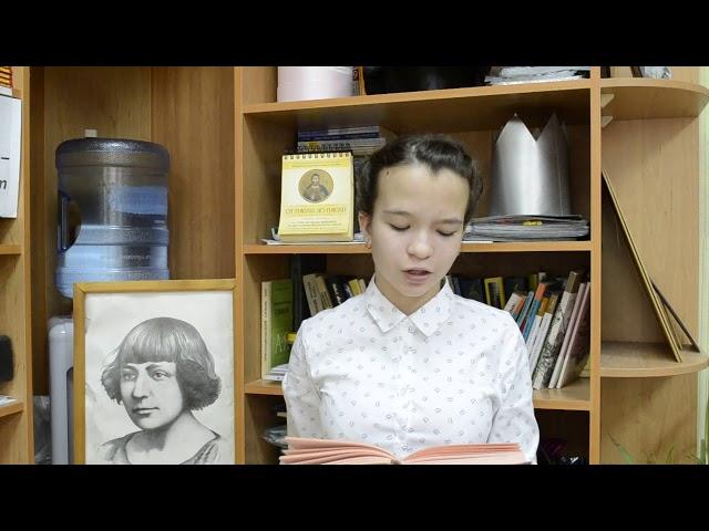 Изображение предпросмотра прочтения – ЕлизаветаМанапова читает произведение «Лучина» М.И.Цветаевой