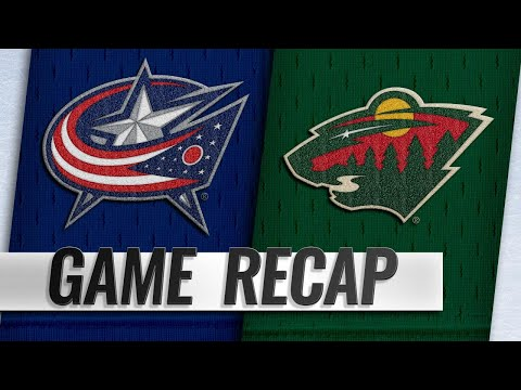 Greenway, Parise lead Wild past Blue Jackets, 2-1