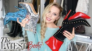 Video SHOE / BOOT HAUL + TRY ON // October 2017 // New in trends and dupes download MP3, 3GP, MP4, WEBM, AVI, FLV Januari 2018