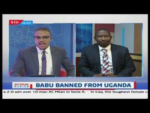 MP Babu Owino banned from Uganda for uttering defamatory statements on Ugandan president