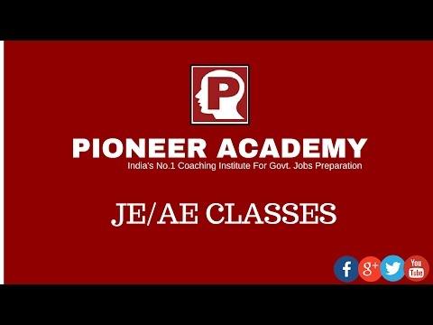 Pioneer Academy JE / AE  Classes