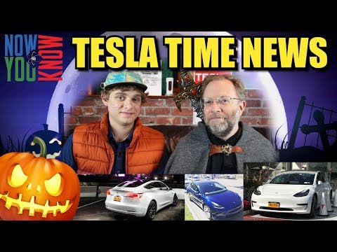 Tesla Time News - Halloween Special - Model 3 Pictures and m