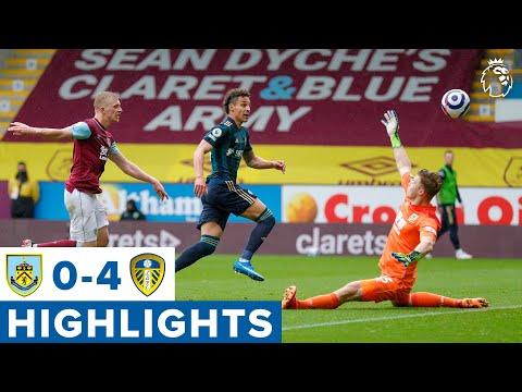 Highlights: Burnley 0-4 Leeds United | Rodrigo double, Klich curler, Harrison flick | Premier League