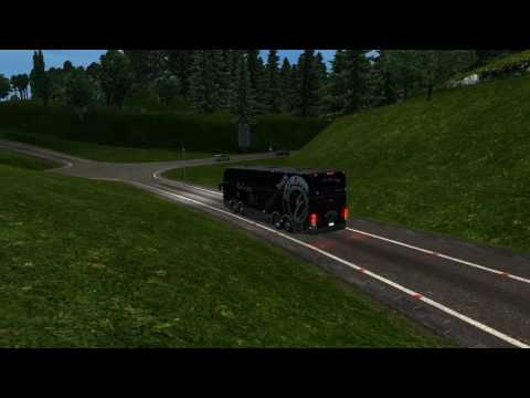Euro Truck Simulator 2 Bus trip to Dresden with Marcopolo Paradiso G6 1800 DD SCANIA K420 8X2