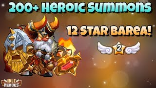 Idle Heroes (S) - Seasonal Events Refresh - 200+ Heroic Summons and 12 Star Barea!