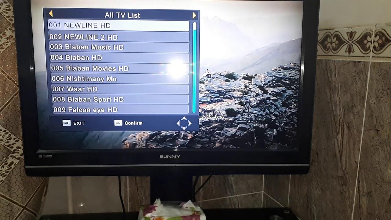 کەناڵەکانی دیجیتاڵ تیڤی لای من بەمشێوەیە Digital TV in Kurdistan