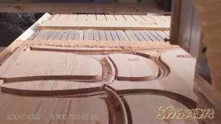 видео Изготовление декоративной скамьи для сада