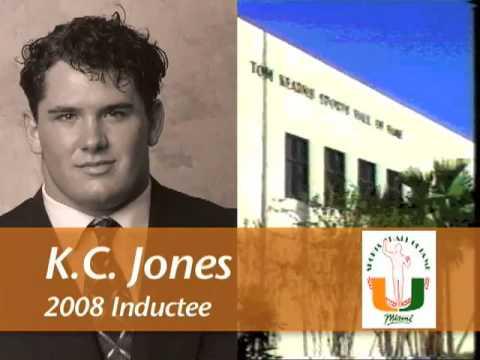 K. C. Jones - University of Miami Sports Hall of Fame
