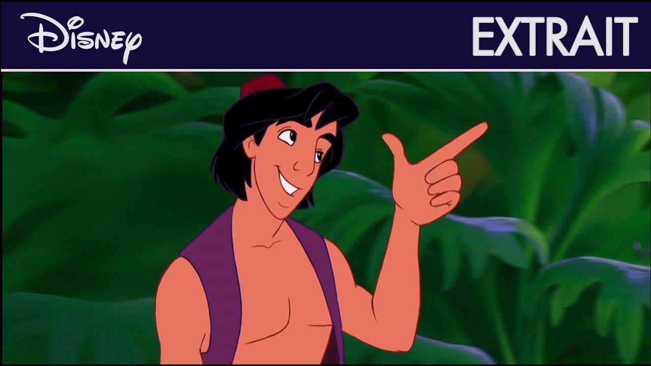 Aladdin - Extrait : Échappés de la Caverne I Disney