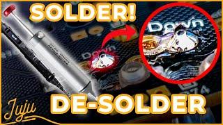 How to Solder / Des๐lder your Mechanical Keyboard!