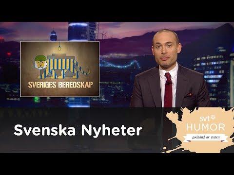 SVENSKA NYEHETER - SVERIGE ÄR INTE RUSTAT FÖR KRIG