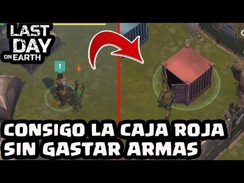 CONSIGO LA CAJA ROJA SIN GASTAR ARMAS | LAST DAY ON EARTH | [El Chicha]