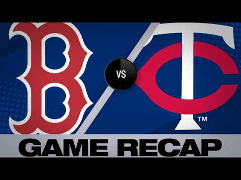 Kepler's walk-off wins it in the 17th   Red Sox-Twins Game Highlights 6/18/19