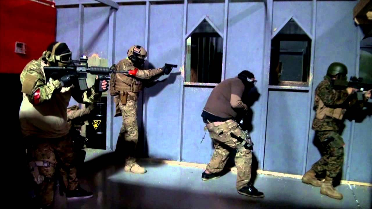 The Airsoft Factory Contractors - YouTube
