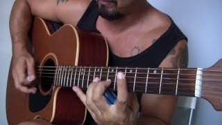 Shred the Funk out! Acoustic Guitar Improvisation by Listenangel