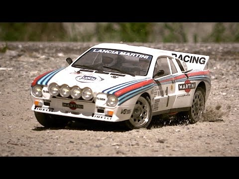 Tamiya Lancia 037 On An Alpine Rally!