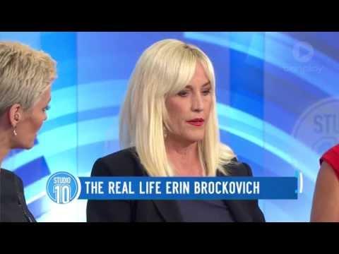 The Real Life Erin Brockovich  Studio 10