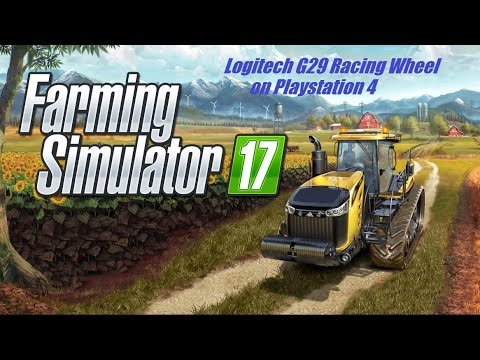 a8d90720393 Is Logitech's G29 Racing wheel compatible with FS17 on PS4 - YouTube