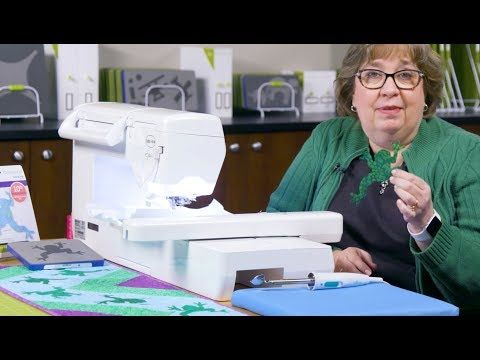 How to use the FREE GO! Leaping Frog Embroidery Designs (EMB55199)
