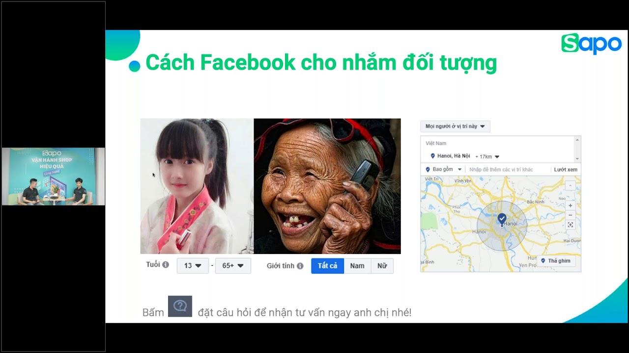 [Sapo] Lầm tưởng về quảng cáo Facebook – Sai 1 ly, đi tiền triệu