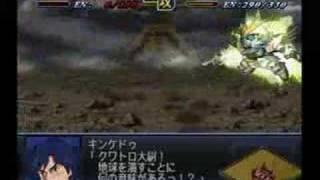 キンケドゥ(シーブック) VS シャア