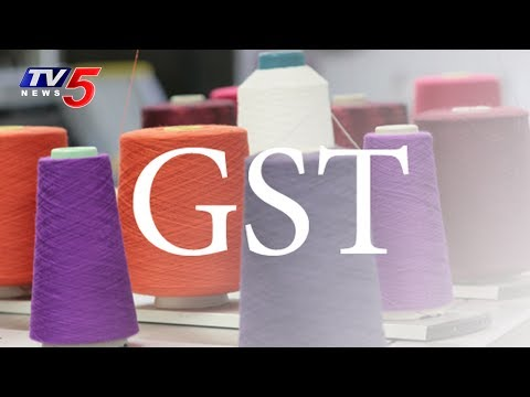 Textile Traders Protest in Telugu States Demanding GST Exemption | TV5 News