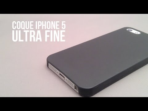 coque fine iphone 5