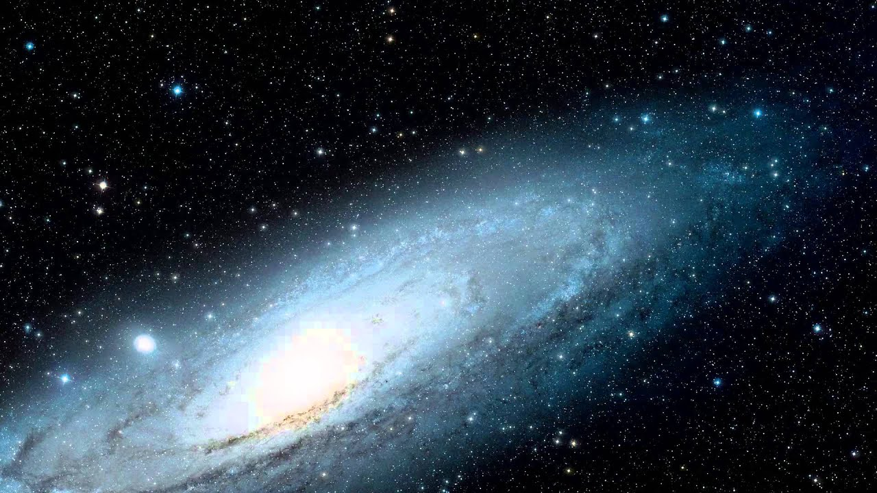 Zooming In On The Andromeda Galaxy Youtube